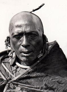 Kikuyu Tribal Chief Kenya