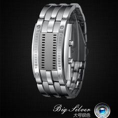 $9.12 (Buy here: https://alitems.com/g/1e8d114494ebda23ff8b16525dc3e8/?i=5&ulp=https%3A%2F%2Fwww.aliexpress.com%2Fitem%2FFashion-man-and-woman-watch-fight-Thunderfury-binary-LED-watch-waterproof-watch-WristWatch-Clock-Relogio-Masculino%2F32760148060.html ) Fashion man and woman watch fight Thunderfury binary LED watch waterproof watch WristWatch Clock Relogio Masculino Montre Femme for just $9.12