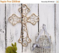 Hey, I found this really awesome Etsy listing at https://www.etsy.com/listing/270450615/holiday-sale-gold-wall-cross-cross-decor