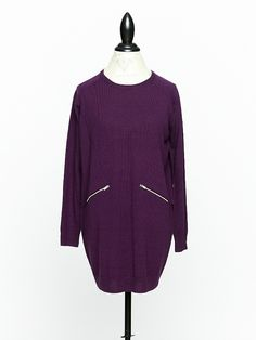 Kelley Derrett Collection in Wellington is a modern take on Woman's Apparel with a focus on Women's Knitwear and Sustainable Fashion designed by Kelley Derrett Fall Winter 2014, Sustainable Fashion, Merino Wool, Nike Jacket, Plum, Knitwear, Tunic, Pocket, Zip