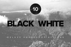 Premium Black & White PS Actions by Prixel Creative  on Creative Market (scheduled via http://www.tailwindapp.com?utm_source=pinterest&utm_medium=twpin&utm_content=post17539936&utm_campaign=scheduler_attribution)