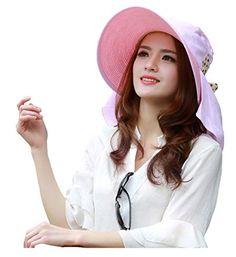 UV Sun hats women summer hats Sun (Pink) 30th floor http://www.amazon.com/dp/B01D84PSWE/ref=cm_sw_r_pi_dp_weF.wb1447122