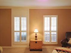How To Add Trim To Make Your Shutters Reach The Ceiling!