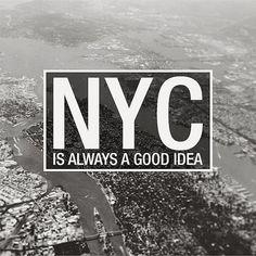 We just arrived in #newyork for #FFANY (Fashion Footwear Association of New York). | Custom inspirational post for 6PM.com social media - www.amandameracreative.com/blog