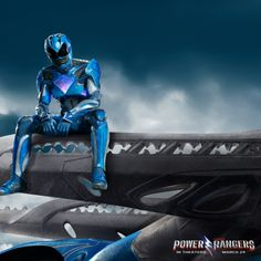 Blue Power Rangers 2017 Poster | Five new character posters for the Power Rangers movie