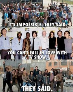 They were wrong!!!! I Love The Walking Dead!!!