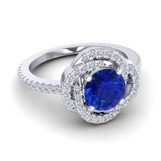 KALEIDOSCOPE RING  from Azeera...ah those sapphires...