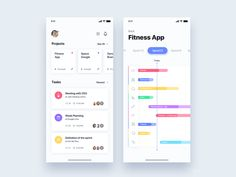 Management team sprint app - Daily UI Challenge 48/365 by Christian Vizcarra