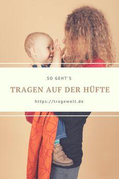 Baby auf der Hüfte tragen: So gehts! #ringsling #tragen #baby #babywearing #babytragen #tragetuch