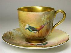 Royal Worcester Çay / Kahve Fincanı