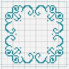 http://www.pinterest.com/source/leschroniquesdefrimousse.com/ Biscornu bleu dégradé