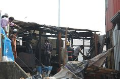 Everything Lost in the Fire .. Lal Mitti Bandra Reclamation