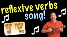 Reflexive Verbs Made Easy With a Song! (Spanish Lesson) - REUPLOAD