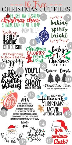 This Free Elf Movie SVG cut file (plus 15 other free Christmas SVG cut files) wi. - This Free Elf Movie SVG cut file (plus 15 other free Christmas SVG cut files) will help you channel - Christmas Svg, Christmas Shirts, Christmas Projects, Christmas Quotes, Free Christmas Font, Christmas Decorations, Free Christmas Printables, Christmas Vinyl Crafts, Christmas Sayings And Quotes