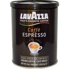 LavAzza Premium Coffees, Ground Coffee, Caffè Espresso.