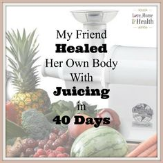 After getting no results for her migraines and fibromyalgia from a traditional doctor - Ruth went on a 40 day juice diet and got fantastic results!