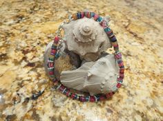 Beachy Rainbow Shell Heishi Beads Ankle by BlueBevyDesigns on Etsy