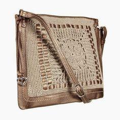 Santa Clara Artesanato: Bolsas com trico ou crochê