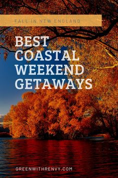 Fall in New England is a gorgeous time of year. Each of the coastal states offer amazing spots for a getaway. Massachusetts, Connecticut, Rhode Island and Maine all shine in the shoulder season. Plan your escape with this guide to destinations along the water. | Nantucket | Rockland | Rockport | Saybrook | Provincetown | Block Island |