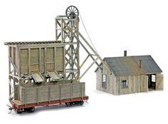 Little Creek Mining Model Kit, HO Scale