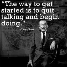 A lesson from Walt Disney   (Originally posted on Facebook by WaltDisneyLand: https://www.facebook.com/WDL1901)