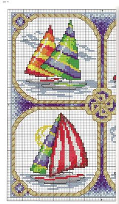 Gallery.ru / Фото #72 - Cross Stitch By The Sea 1/2.