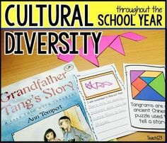 Celebrate cultural diversity throughout the school year.  Set up a literacy center with these print and go half page reading response page.  Easy prep!  link to paid