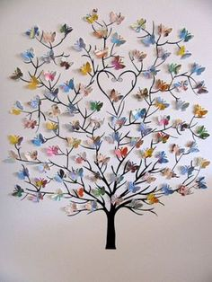 15 Ways to Make Your Walls Beautiful with Butterfly Decorations https://www.futuristarchitecture.com/34721-butterfly-wall-decorations.html