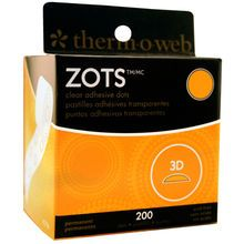 Therm O Web Zots™ Clear Adhesive 3D Dots