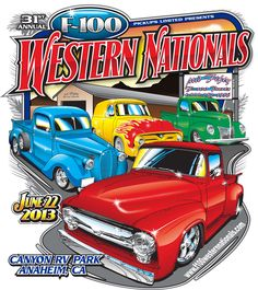 June 22, 2013 is the 31st F100 Western Nationals www.f100westernnationals.com