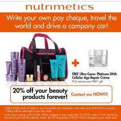 Save on all your beauty needs forever!
