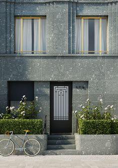 Greifweg Immobilie Düsseldorf Eingang