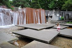 Ira Keller Fountain Park Portland, Oregon is part of Fountain park - Landscape And Urbanism, Urban Landscape, Landscape Design, Garden Design, Modern Landscaping, Outdoor Landscaping, Garden Architecture, Architecture Design, Poket Park