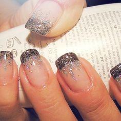 french nails short Natural - DIY French Nail Tips At Home - Nageldesign Natur New Year's Nails, Get Nails, Love Nails, Pretty Nails, Hair And Nails, Gorgeous Nails, Crazy Nails, Amazing Nails, Perfect Nails