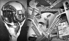 MIGLIORI MOSTRE D'AUTUNNO - Al Chiostro del Bramante di Roma l'appuntamento è con la grande retrospettiva dedicata a Maurits Cornelis Escher #Zingarate.com #rassegnastampa #escherRoma