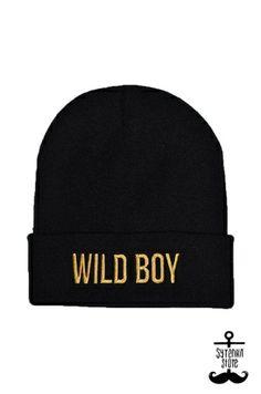 Wild boy beanie www.syrenkastore.com