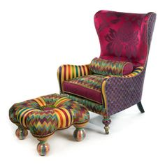 "Alice in Wonderland furniture. kaleidoscope | Capris Furniture ""color pop"" to kaleidoscope level"