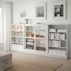 Glass Cabinet Doors, Sliding Glass Door, Sliding Doors, Glass Doors, Scandinavian Furniture, Scandinavian Design, Liatorp, Frame Shelf, Tempered Glass Shelves