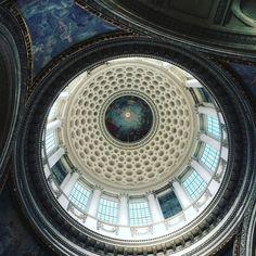 Insta Dome du Panthéon #architecture #archilovers #architects #archidaily #paris #pantheon