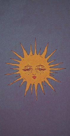 'Hippie Sun ' Poster by Sun Wallpaper, Trippy Wallpaper, Iphone Background Wallpaper, Retro Wallpaper, Aesthetic Iphone Wallpaper, Aesthetic Wallpapers, Hippie Wallpaper, Sun Background, Tie Dye Background