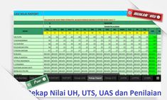 [File Pendidikan] Download Gratis Aplikasi Rekap Nilai Ujian dan Nilai Raport versi Excel Gaming Desktop Backgrounds, Gratis Download, Microsoft Excel, Logo Images, Photo Tips, Diy And Crafts, Education, Words, School