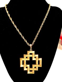 VTG CROWN TRIFARI SATIN GOLD-TONE BASKET WEAVE MALTESE CROSS NECKLACE PENDANT Maltese Cross, Costume Necklaces, Dark Fantasy, Nice Things, Basket Weaving, Vintage Designs, Weave, Satin, Pendants