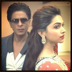 """Jalandhar done.Lovely time with lovely students.Will miss the madness & heat"""" Bollywood Couples, Bollywood Fashion, Deepika Padukone Hair, Indian Star, Shahrukh Khan, Celebs, Celebrities, Dimples, Her Hair"""