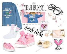 """""""Yeah Bunny Style"""" by albat0ul ❤ liked on Polyvore featuring Yeah Bunny, Puma, Chloé and Tzumi"""
