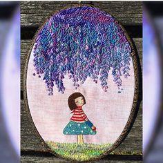 #beautifulcreations #embroidery#nakissanati#hobbycraft #hobbyist…