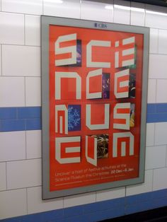 Science Museum poster