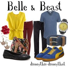 Beauty and The Beast - Belle & Beast