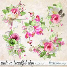 Beautiful Day, Digital Scrapbooking, Kit, Shop, Collection, Design, Design Comics, Store