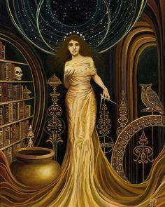 Urania la musa de la astronomía y la filosofía 16 por EmilyBalivet
