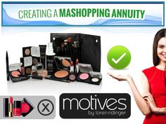"""Create a MA #shoppingannuity  Switch from """"the other brands"""" to Motives"""